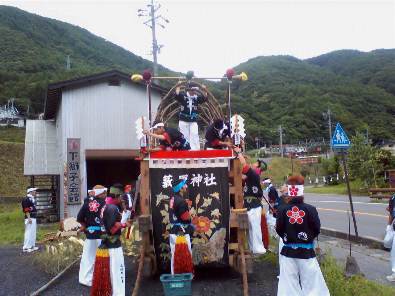 薮原祭りナウ