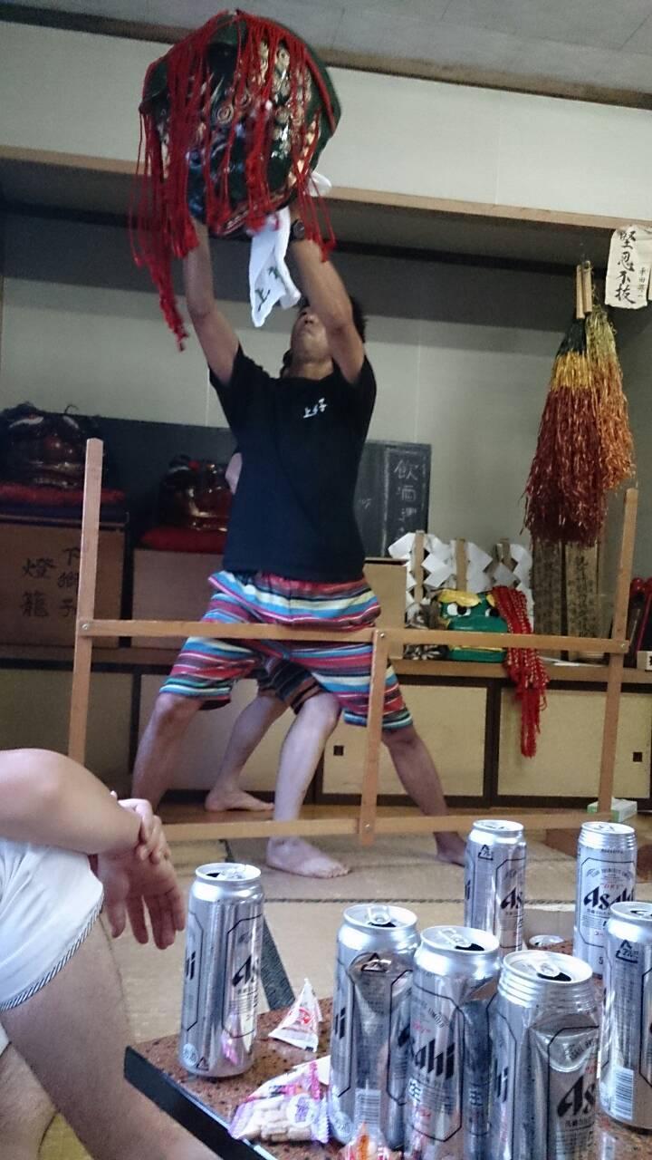 奉納獅子同日二公演その3