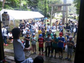 八幡祭り開催しました