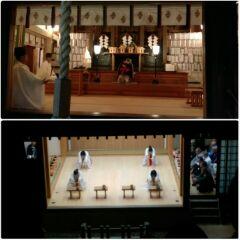 薮原神社例大祭宵祭り