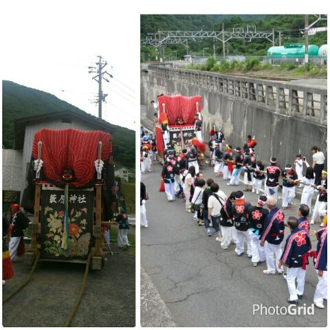 平成28年度薮原神社例大祭